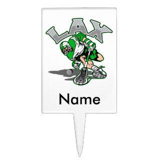 Uniforme del verde del jugador de LaCrosse Palillos De Tarta
