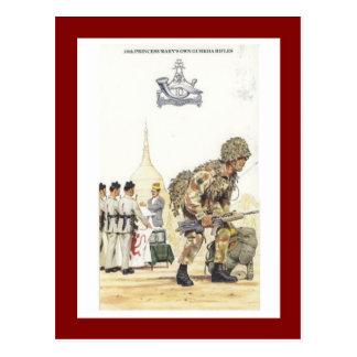 Uniformes militares del vintage, 10mos rifles del postal