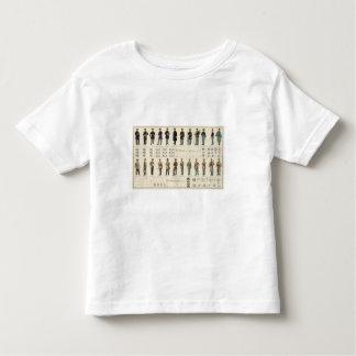 Uniforms, US, CS armies T-shirt