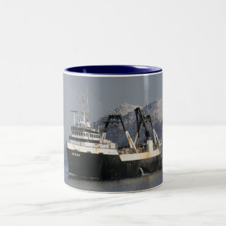 Unimak, Factory Trawler in Dutch Harbor, AK Coffee Mugs