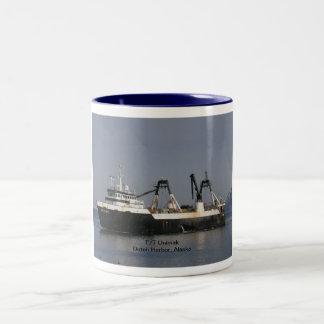 Unimak, Factory Trawler in Dutch Harbor, AK Mugs