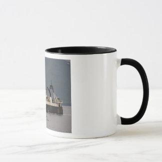 Unimak, Factory Trawler in Dutch Harbor, Alaska Mug