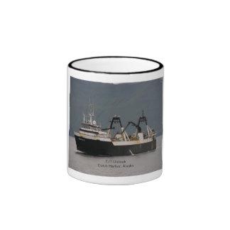 Unimak, Factory Trawler in Dutch Harbor, Alaska Coffee Mugs