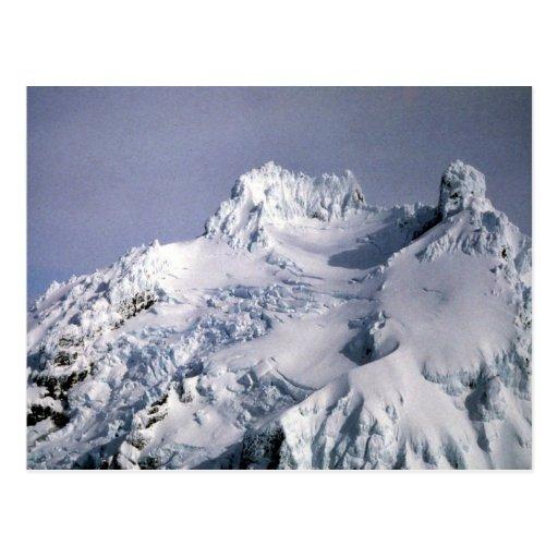 Unimak Island, Isanotski Volcano Postcard