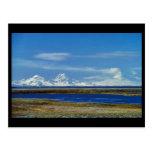 Unimak Island Peaks, Roundtop, Isanotski, Shishald Postcard