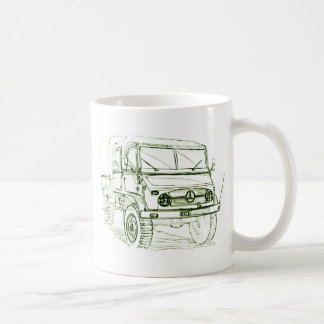 Unimog 401 Doka Classic White Coffee Mug