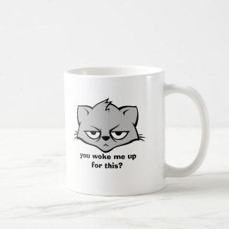 Unimpressed Cat Mugs