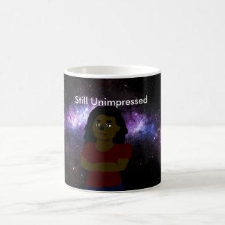 Unimpressed Space Girl Coffee Mug
