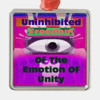 Uninhibited Freedom Metal Ornament