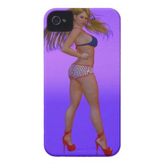 Uninhibited Sensual Actio iPhone 4 Case-Mate Tough
