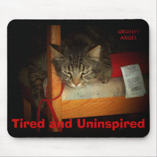 Uninspired Angel Mouse Pad