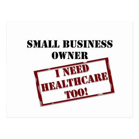 Uninsured Business Owner Postcard