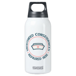 Unintended Consequences Repaired 10 Oz Insulated SIGG Thermos Water Bottle