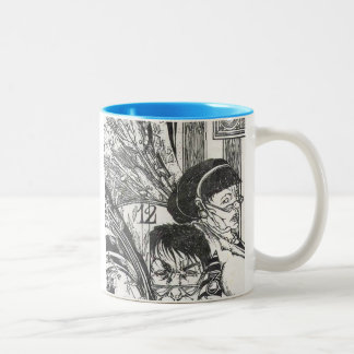 """Uninterrupted Time"" Two-Tone Coffee Mug"