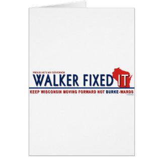 Unintimidated Scott Walker Card