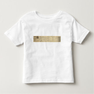 Union and Central Pacific Railroad Lines Toddler T-shirt