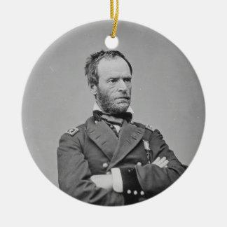 Union Army General William Tecumseh Sherman Christmas Tree Ornament