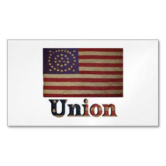 Union Army USA Civil War Flag Business Card Magnet