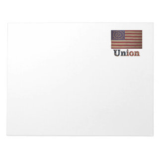Union Army USA Civil War Flag Notepad