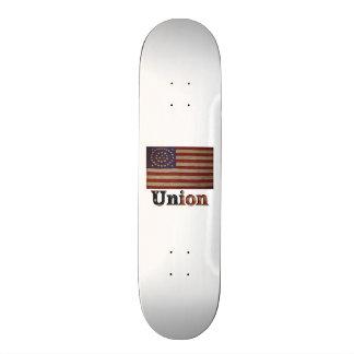 Union Army USA Civil War Flag Skateboard