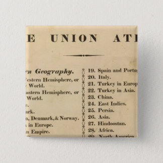Union atlas pinback button