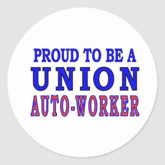 UNION AUTO- WORKER STICKERS