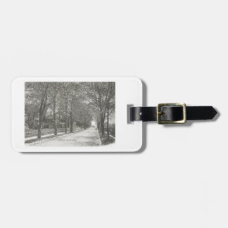 Union Ave., Rutherford, New Jersey Vintage Luggage Tag