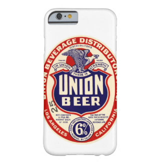 Union Beer Vintage Label Case Barely There iPhone 6 Case