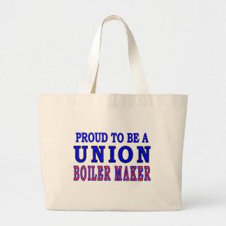 UNION BOILER MAKER CANVAS BAG