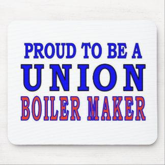 UNION BOILER MAKER MOUSE PAD