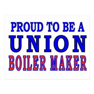 UNION BOILER MAKER POSTCARD