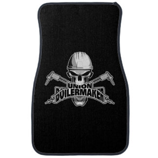 Union Boilermaker: Welding Skull Car Mat
