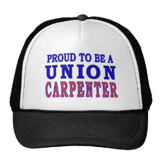 UNION CARPENTER TRUCKER HAT