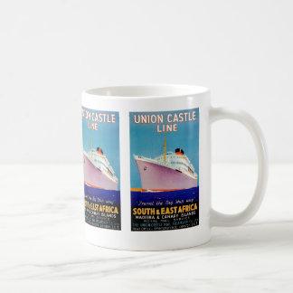 Union Castle ~ The Big Ship Way Classic White Coffee Mug