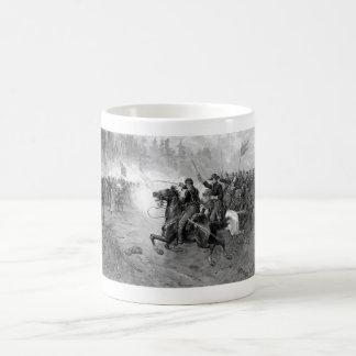 Union Cavalry Charge -- Civil War Coffee Mug