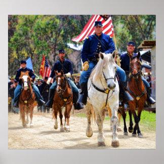 Union Cavalry Poster