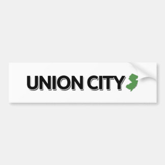 Union City, New Jersey Bumper Sticker