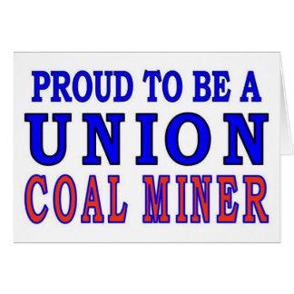 UNION COAL MINER CARD