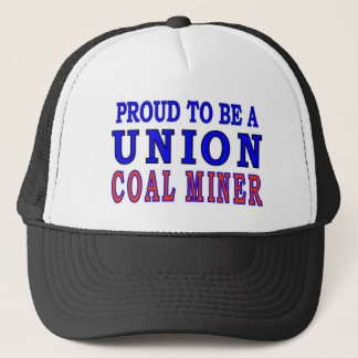 UNION COAL MINER TRUCKER HAT