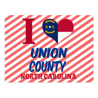 Union County, North Carolina Postcard