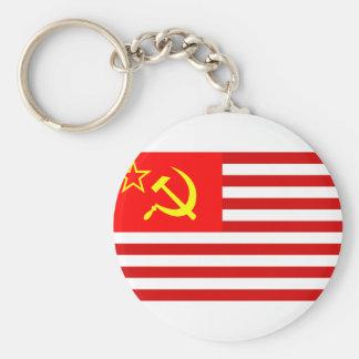 Unión de estados soviéticos de América, Repu Democ Llavero Personalizado