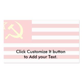 Unión de estados soviéticos de América, Repu Democ Tarjetas De Visita
