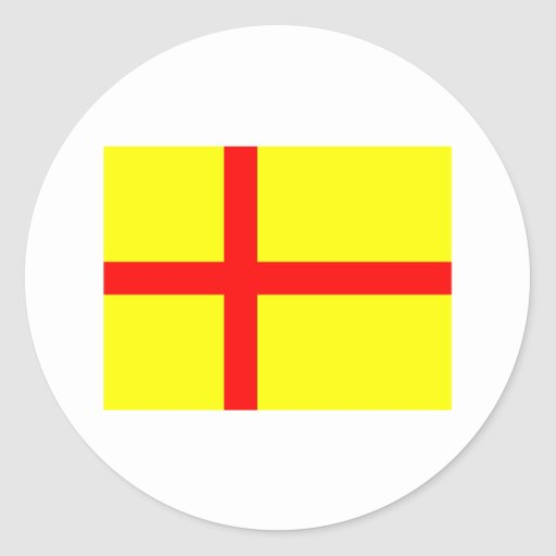 Unión de Kalmar Etiqueta Redonda
