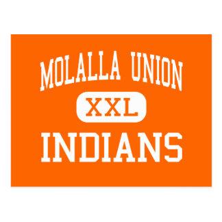 Unión de Molalla - indios - alta - Molalla Oregon Postales