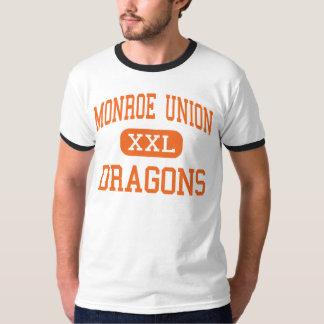Unión de Monroe - dragones - alta - Monroe Oregon Playera