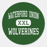 Unión de Waterford - carcayúes - alta - Waterford Etiqueta Redonda