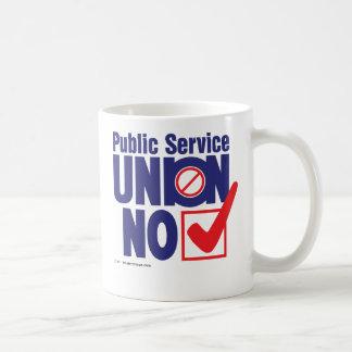 Unión del servicio público NINGUNA Taza De Café