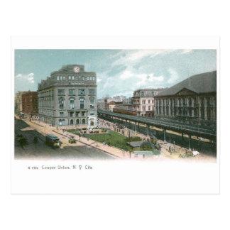 Unión del tonelero. Ciudad de NY Tarjeta Postal
