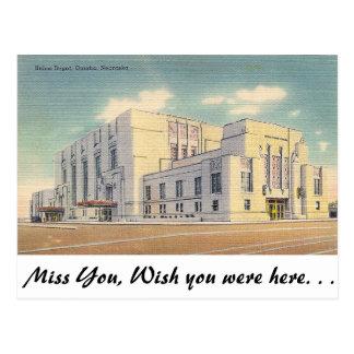 Union Depot, Omaha, Nebraska Postcard