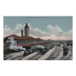 Union Depot Railroad North Side Posters